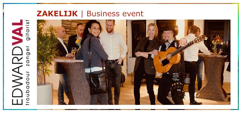 Mobiele-muzikant-bij-bedrijfsfeestje-event-zanger-gitarist-boeken-artiestenbureau-Edward-Val-Veluwe Utrecht Gelderland